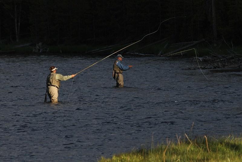 pesca a mosca lanzado