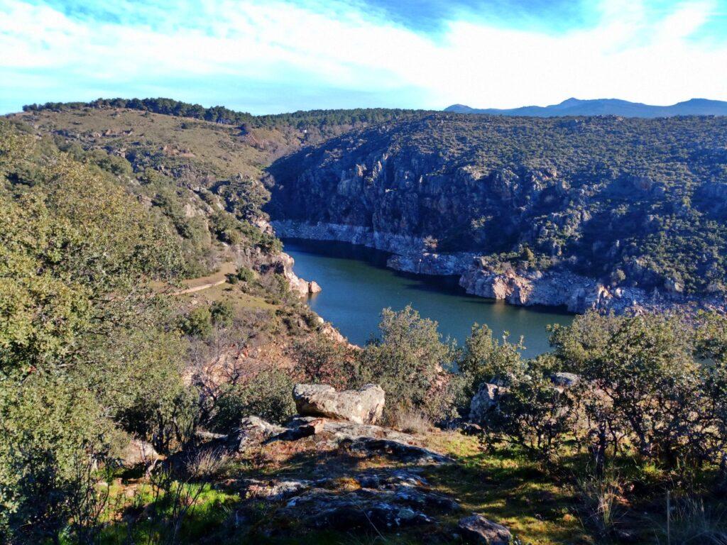 Ruta: Mangirón - Cañón del Lozoya - Embalse del Villar - Embalse del Atazar