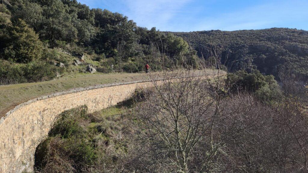 Ruta: Mangirón - Cañón del Lozoya - Embalse del Villar - Canal Isabel II
