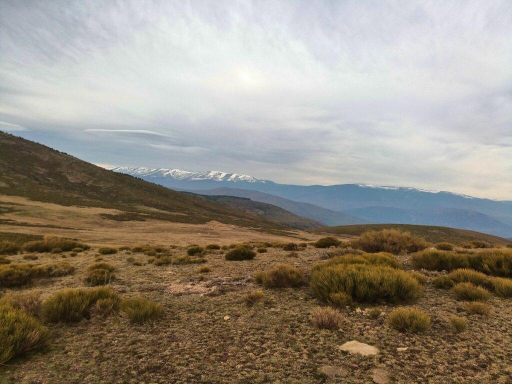 Mina de plata de Bustarviejo y cima del Mondalindo - Collado abierto