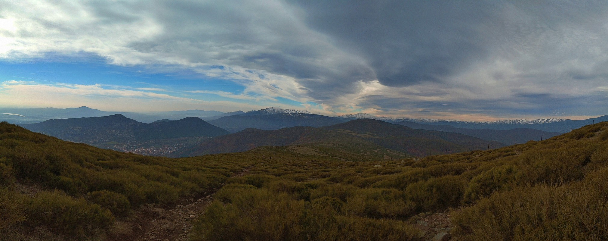 Mina de plata de Bustarviejo y cima del Mondalindo - Vistas de Sierra de Guadarrama